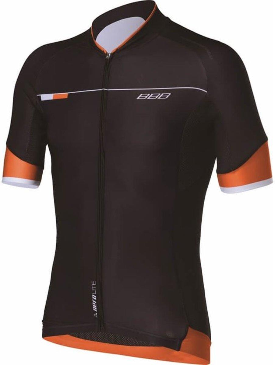 BBB Roadtech Fietsshirt - Heren - Zwart/oranje - Maat M