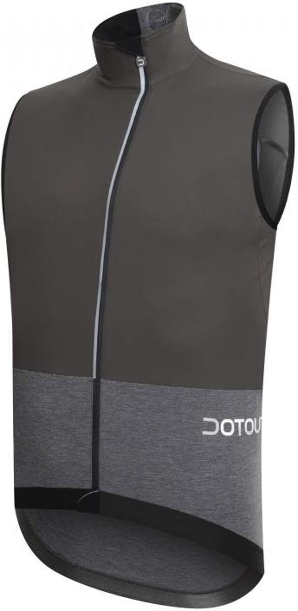 Dotout Galaxy - Heren Fiets shirt - Zwart/Grijs - Maat XXL