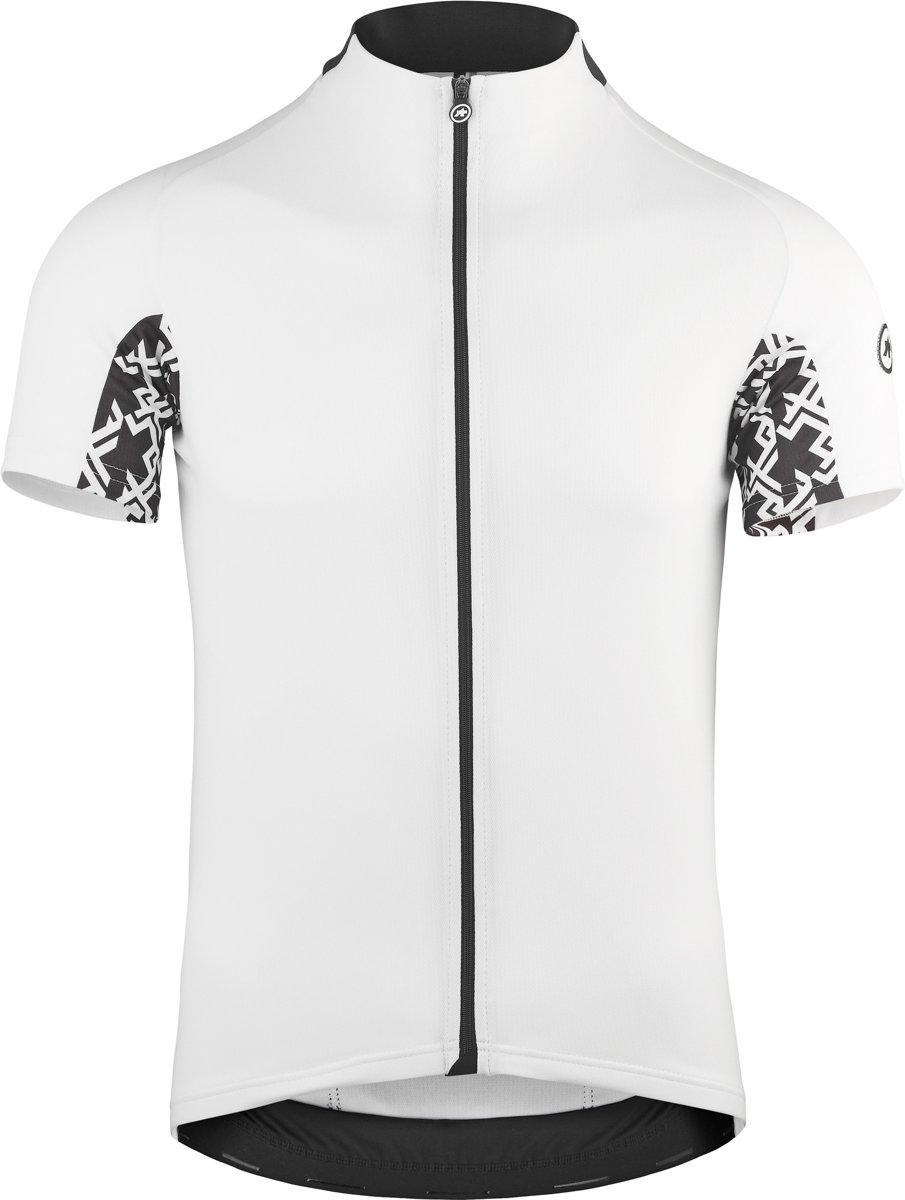 assos Mille GT Fietsshirt korte mouwen Heren, holy white Maat S