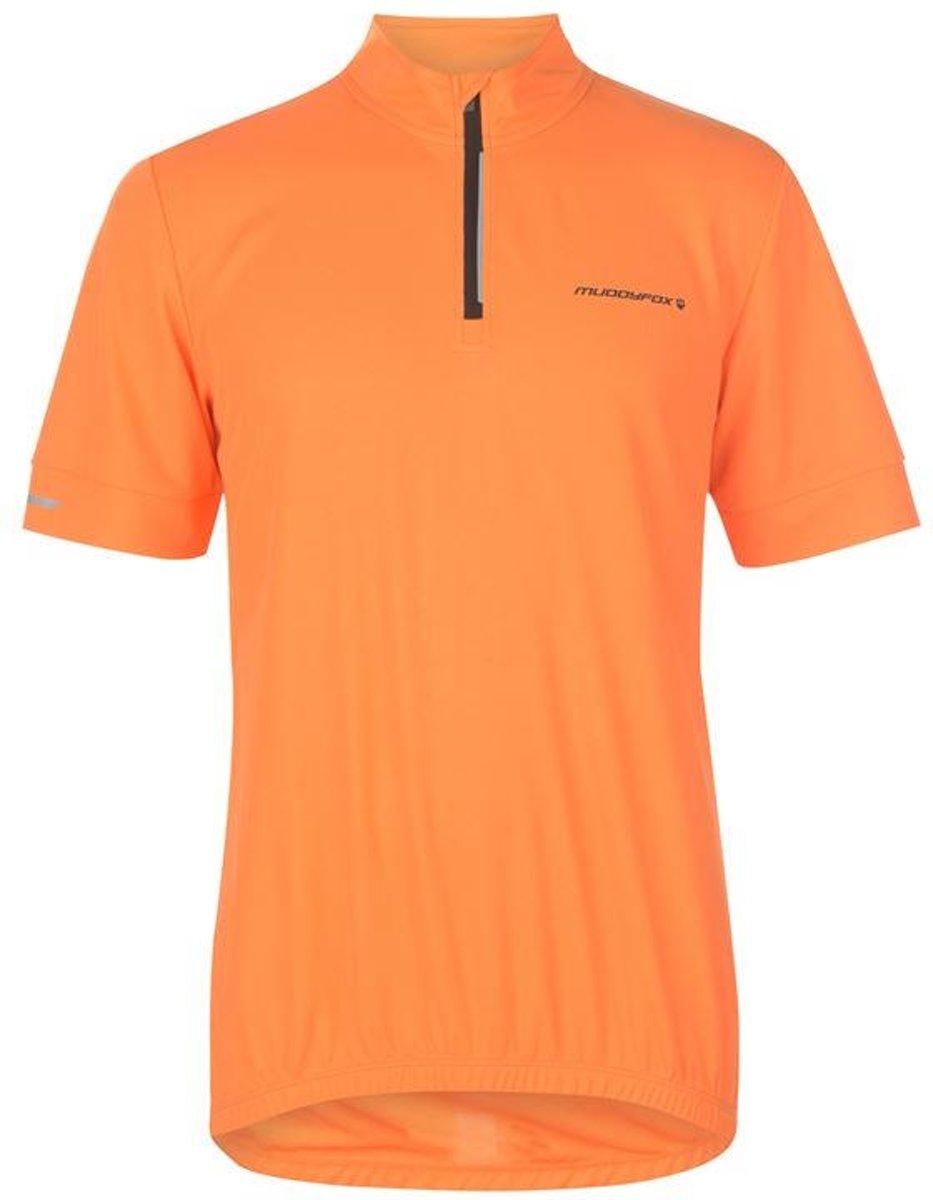 Muddyfox Fietsshirt - Maat S - Heren - Oranje