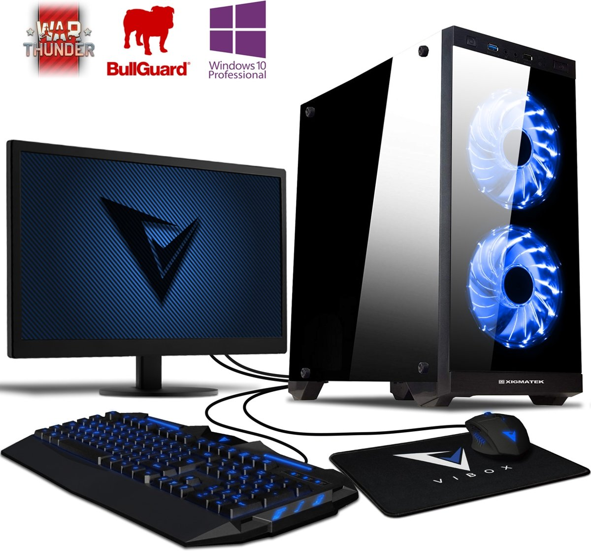 Vibox Gaming Desktop Killstreak GS780-60 - Game PC