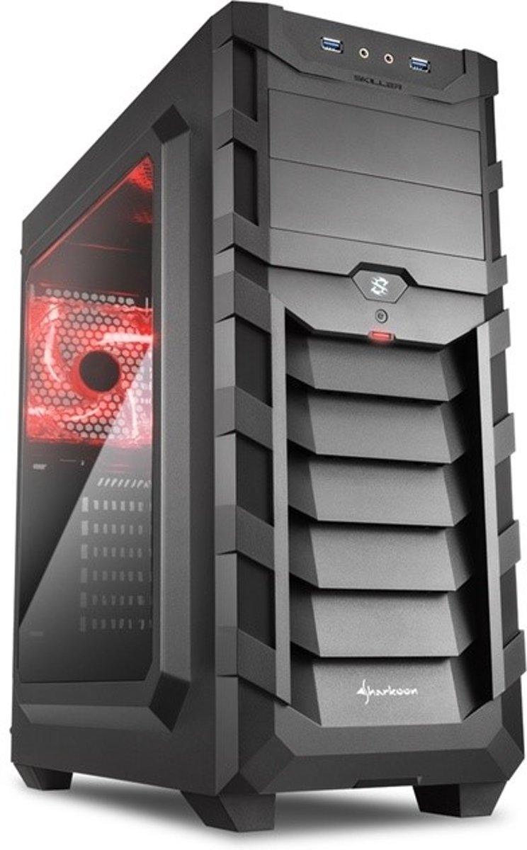 AMD Ryzen 3 2200G Allround Game Computer / Gaming PC - GeForce GTX 1050 Ti 4GB - 8GB RAM - 1TB HDD - Windows 10