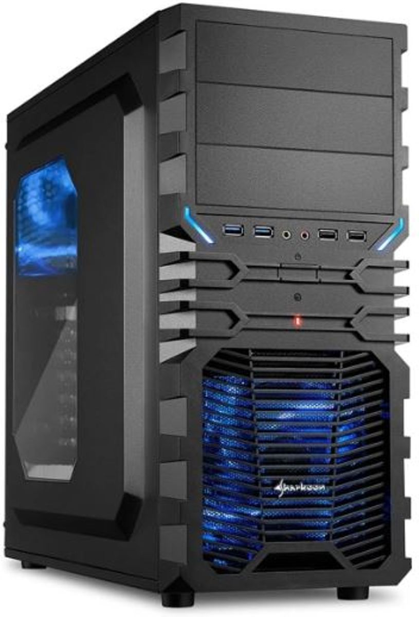 AMD Ryzen 3 2200G Game PC (Geschikt voor Fortnite) - Gaming Computer - 120GB SSD