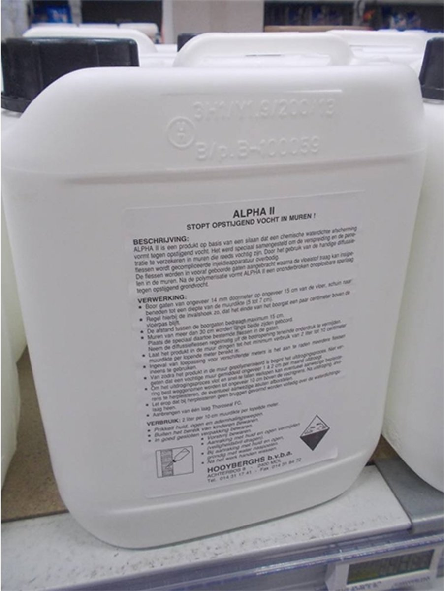 Thoro Alpha 2 Injecteermiddel 5l