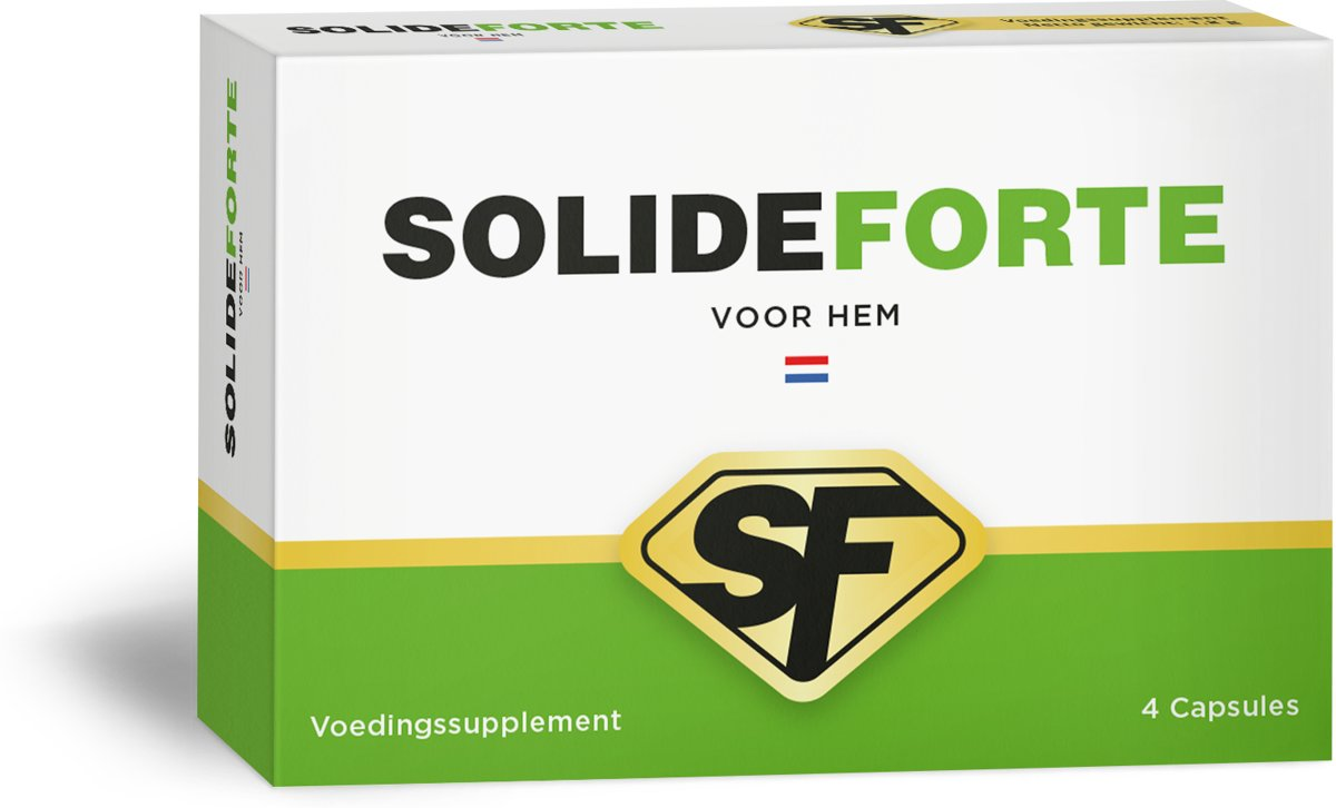 Solideforte - Natuurlijke Erectiepillen voor Hem - 4 Capsules