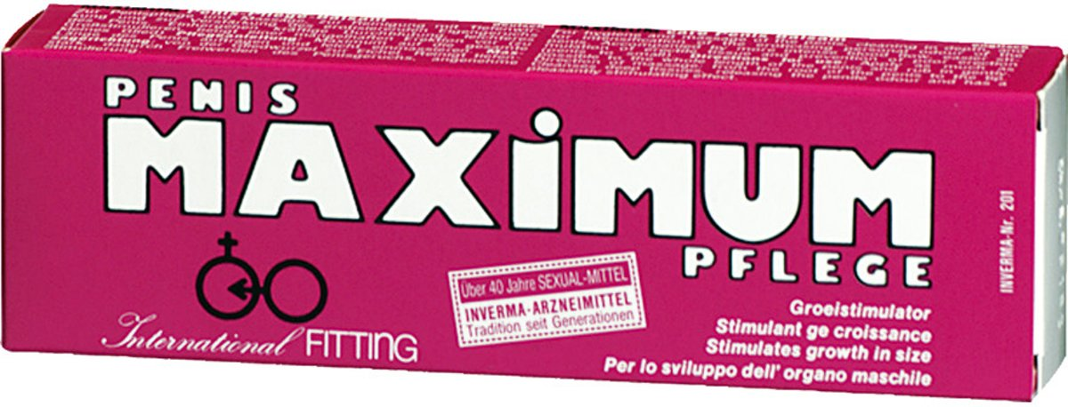 Penis Maximum - 45 ml - Erectiecreme