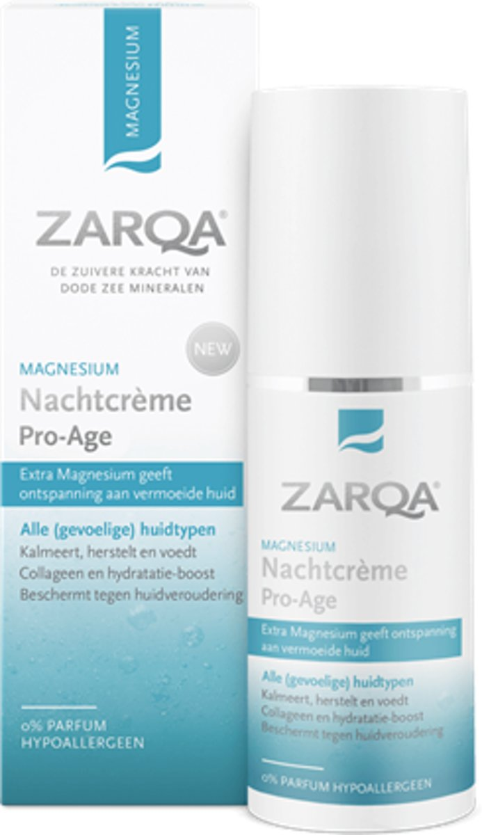 Zarqa Magnesium Nachtcr??me Pro-age 50 ML 50