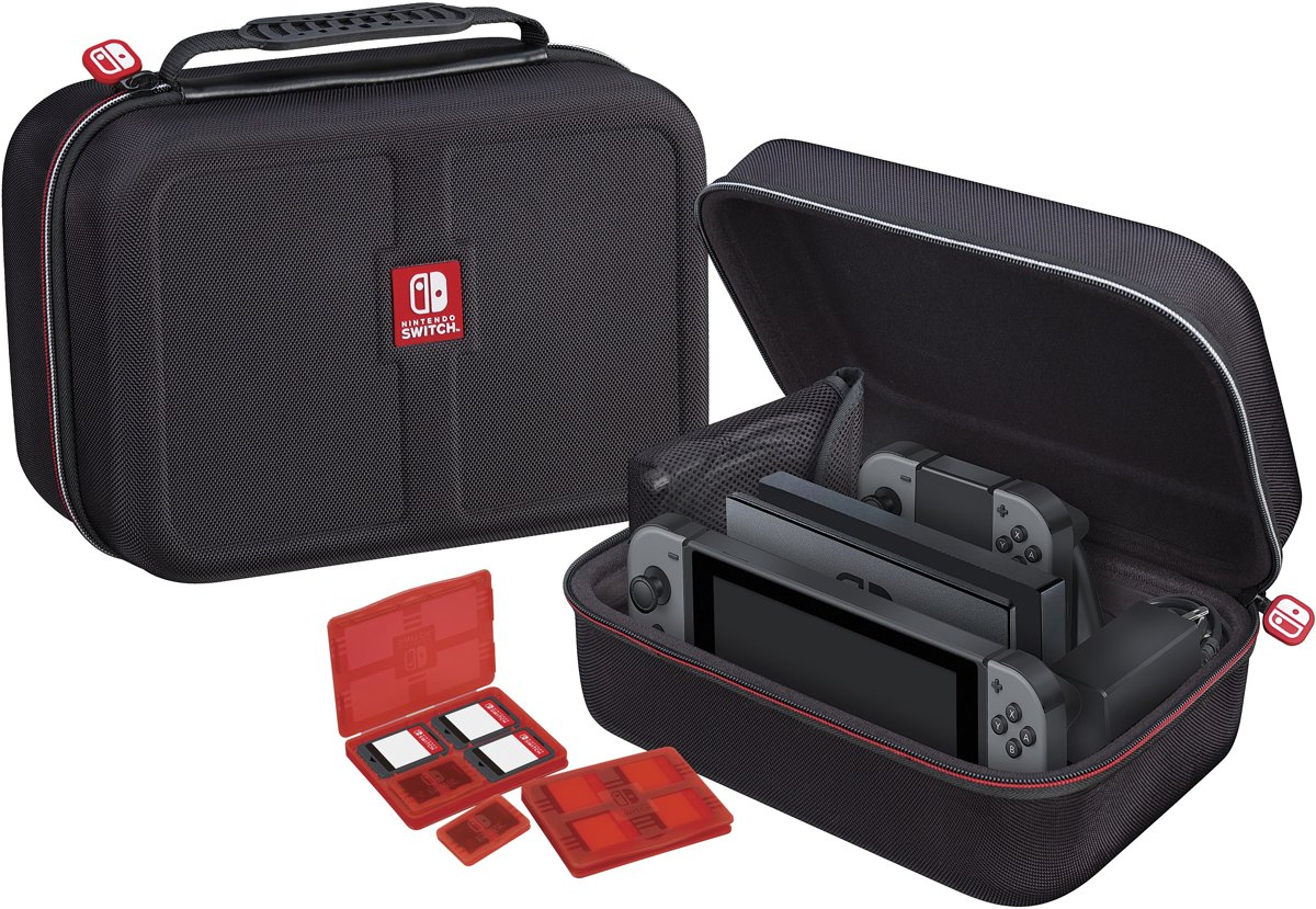 Official Licensed Luxe Opbergtas - Nintendo Switch