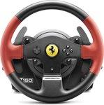 Thrustmaster T150 Ferrari Wheel Force Feedback Stuurwiel + pedalen PC, PlayStation 4, Playstation 3 Zwart, Rood