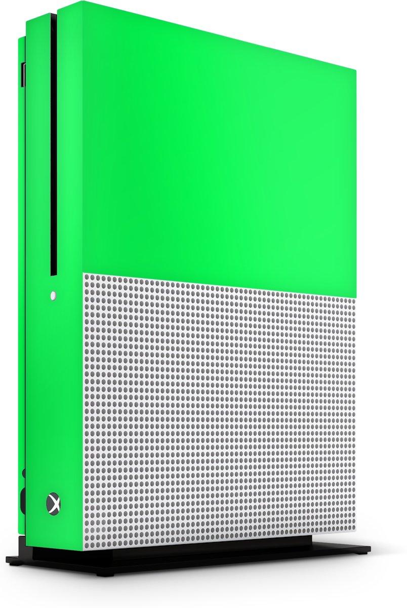 Xbox One S Console Skin Basic Groen