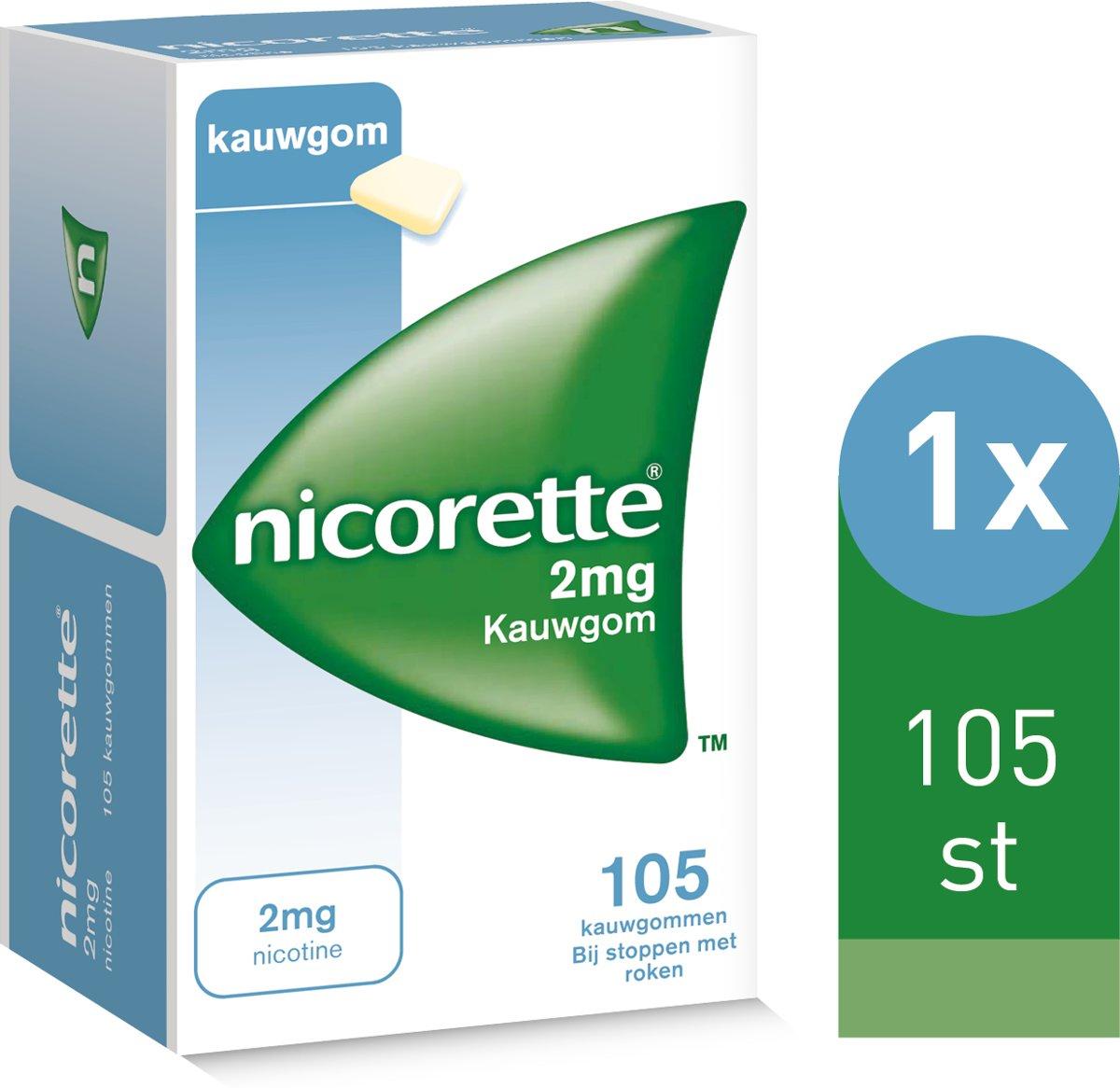Nicorette kauwgom