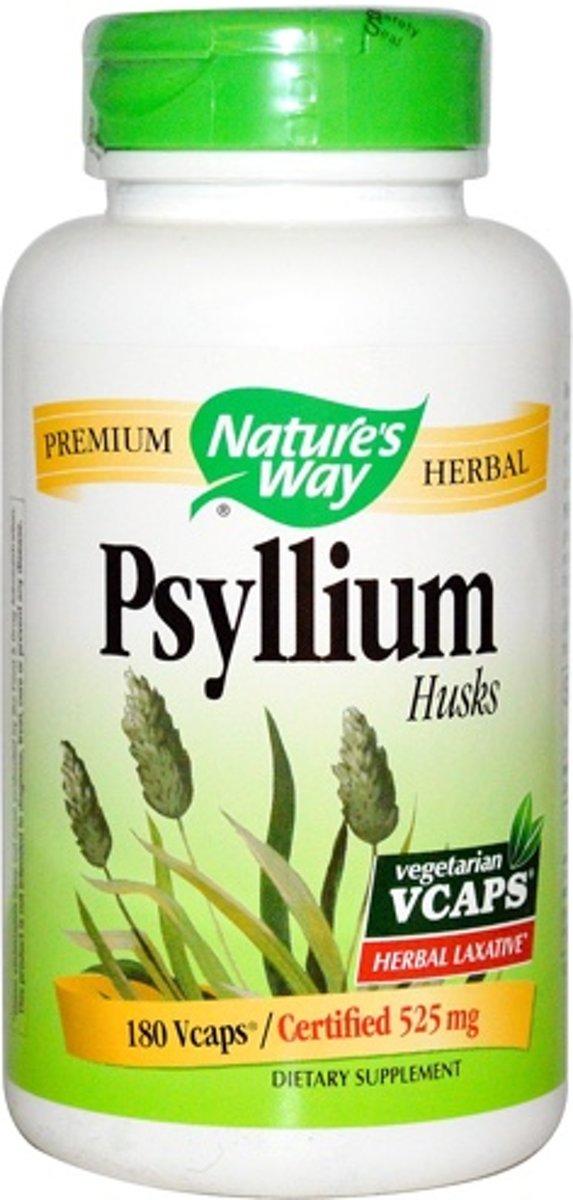 Psyllium Husk Nature's Way 100v-caps
