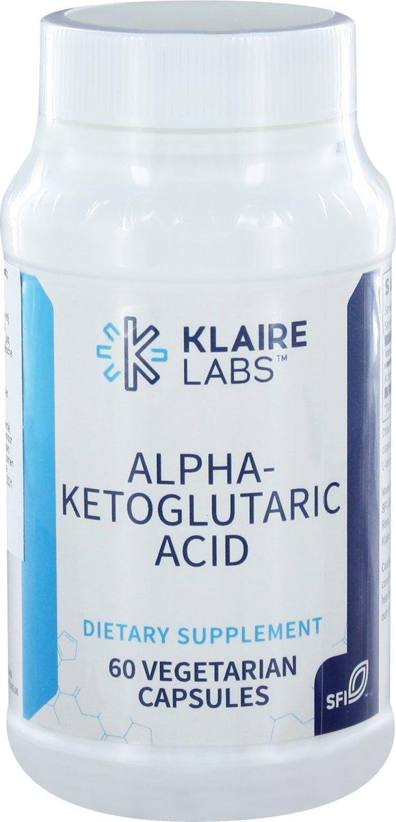 Klaire Labs Alfa-Ketoglutaarzuur 60 vegicaps