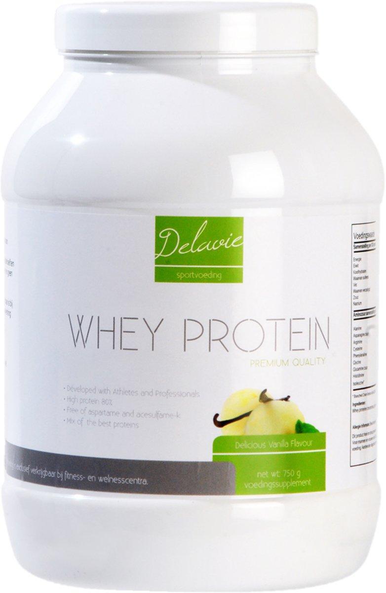 Delavie Whey Protein Vanilla 2000g