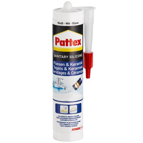 Pattex voegkit Tegels & Porselein silicone wit 300ml