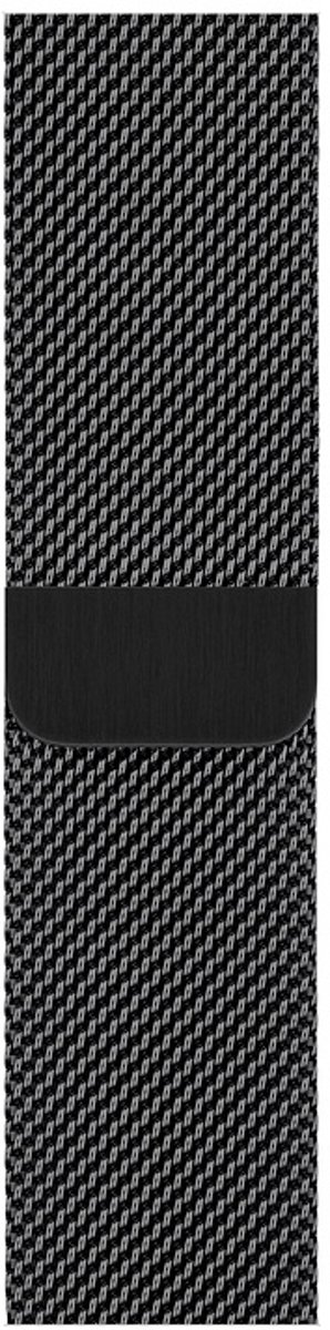 Apple Band 40mm Spacezwart Milanese Loop