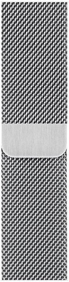 Apple Milanees bandje - Apple Watch Series 4 (40mm) - Zilver