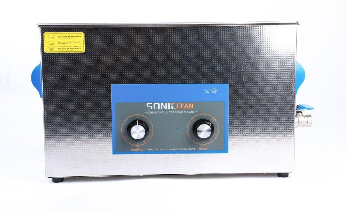 SonicClean ultrasoon reiniger ultrasone reiniger 10L met extra lange tank