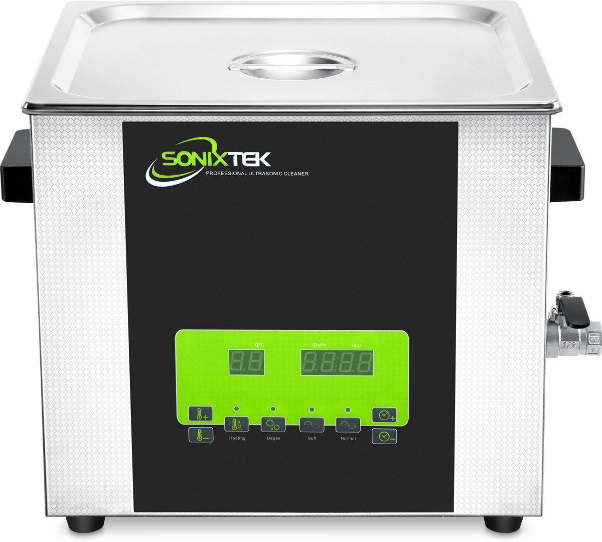 Sonixtek STD Series 15L 400W - Digitale ultrasone reiniger - RVS