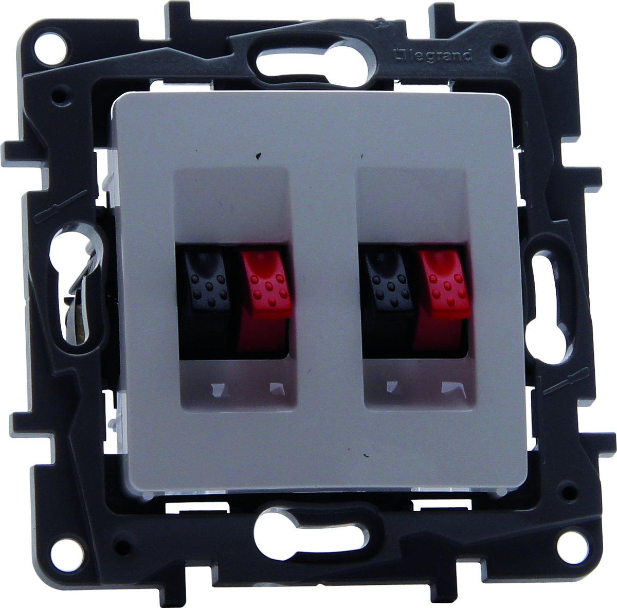 Legrand NILO? inbouw luidspreker stopcontact - enkelvoudig - wit