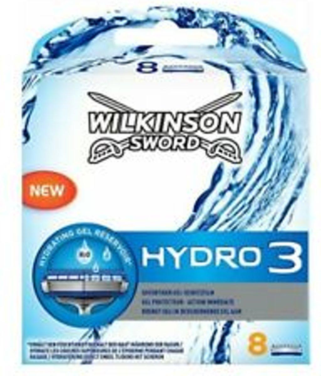 Wilkinson Scheermesjes Heren Hydro 3 - 8 stuks