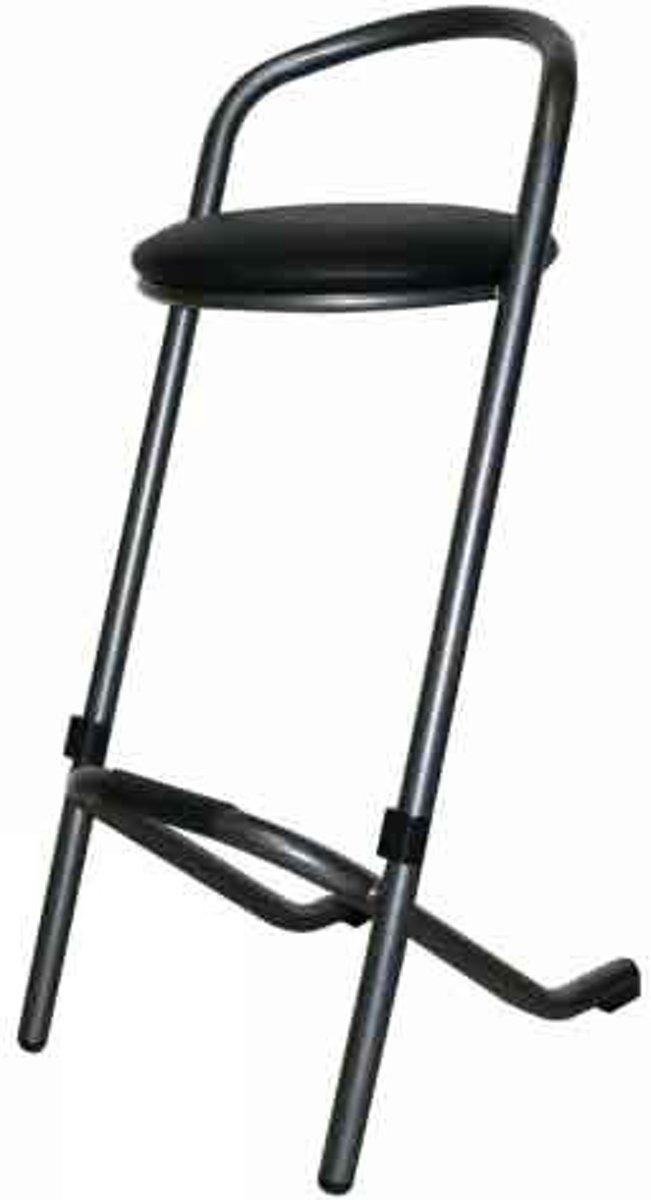 Barkruk Trendy hamerslag/zwart