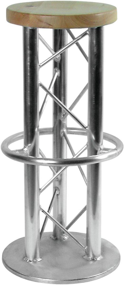 ALUTRUSS barkruk industrieel metaal - zilver - truss