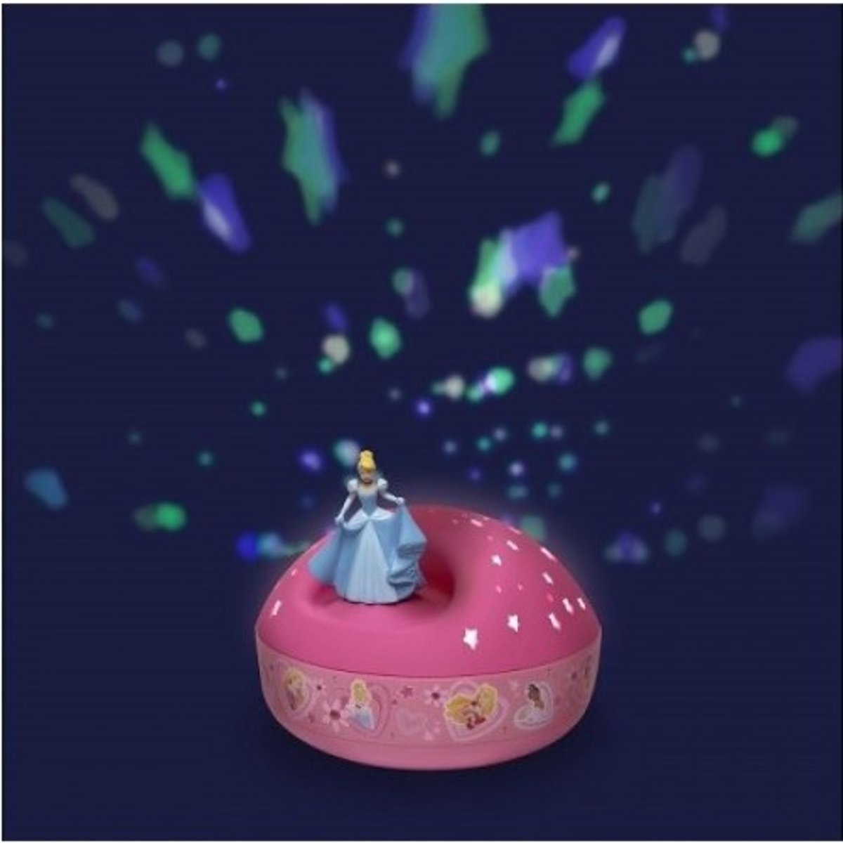 Muzikale sterrenprojector Disney Cendrillon Rose