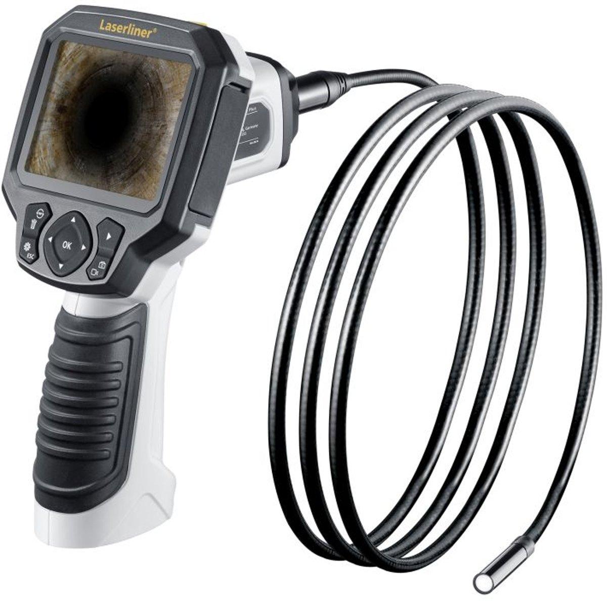 Laserliner 082.256A Endoscoop Sonde-?: 9 mm Sondelengte: 2 m Digitale zoom, LED-verlichting