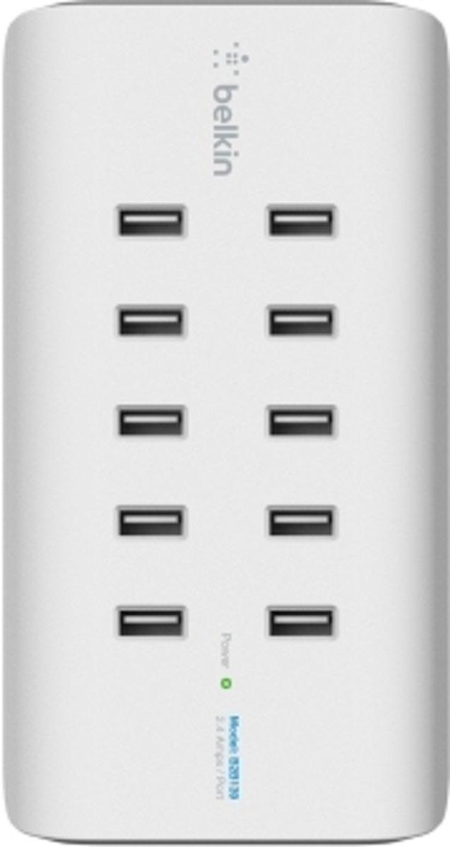 Belkin RockStar B2B139vf USB-laadstation Thuis Uitgangsstroom (max.) 24000 mA 10 x USB