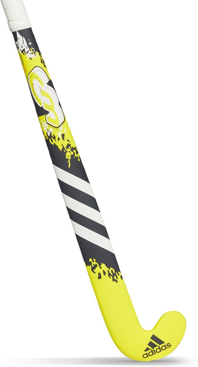 adidas Counterblast Compo Junior Indoor Hockeystick - Sticks  - geel - 34