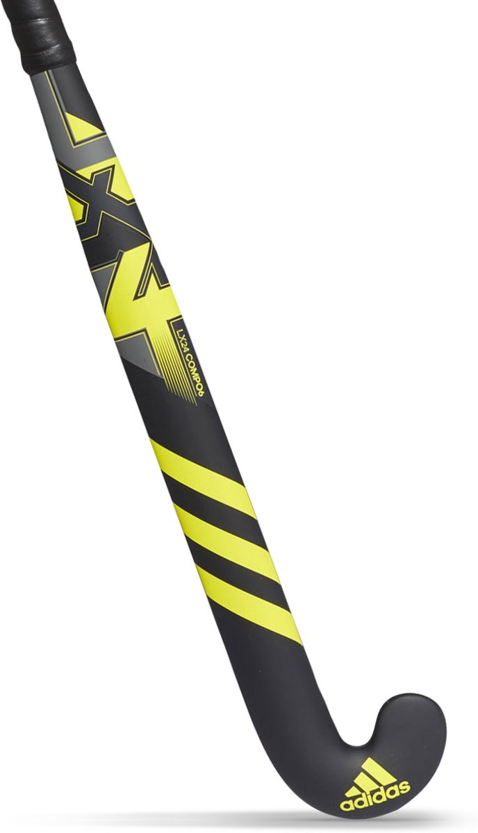 adidas LX24 Compo 6 Junior Hockeystick - Sticks  - zwart - 34