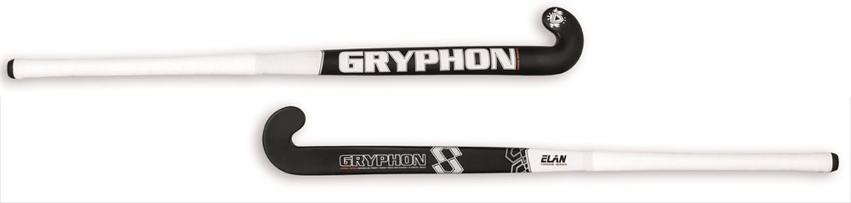 Gryphon Jr. Chrome Elan Black Hockeystick Unisex - Black
