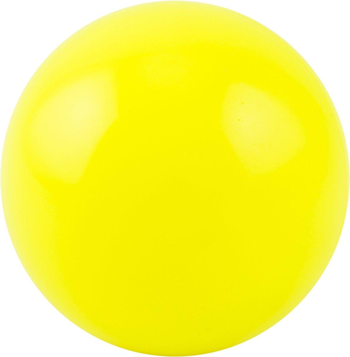 Hockeybal glad geel - no logo