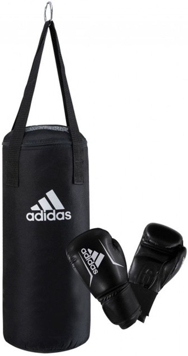 Adidas Bokszak Set Junior - Zwart