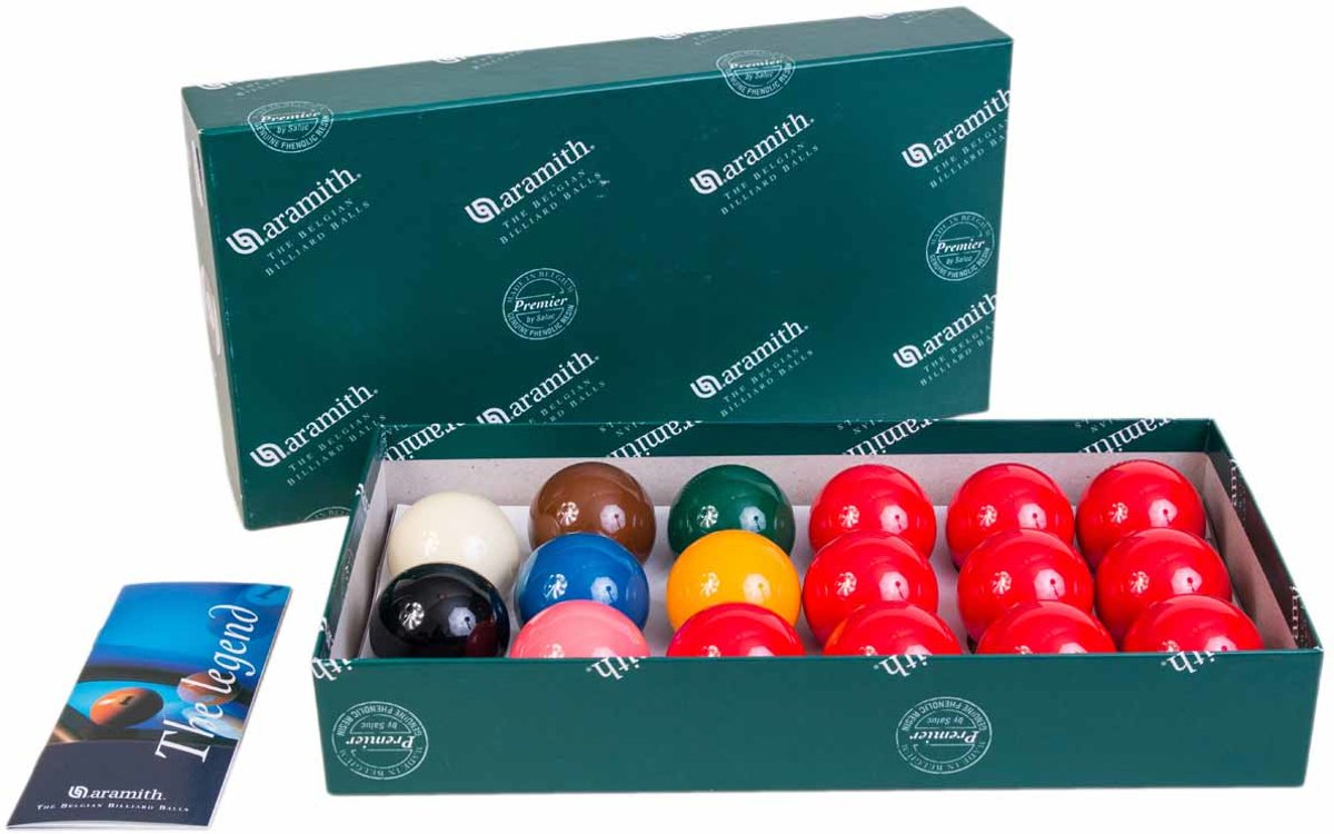 Snookerballen 48,0mm Aramith