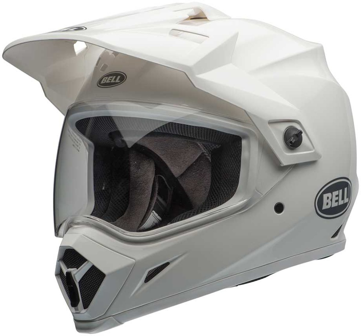Bell Crosshelm/Endurohelm MX-9 Adventure MIPS® Gloss White-XL