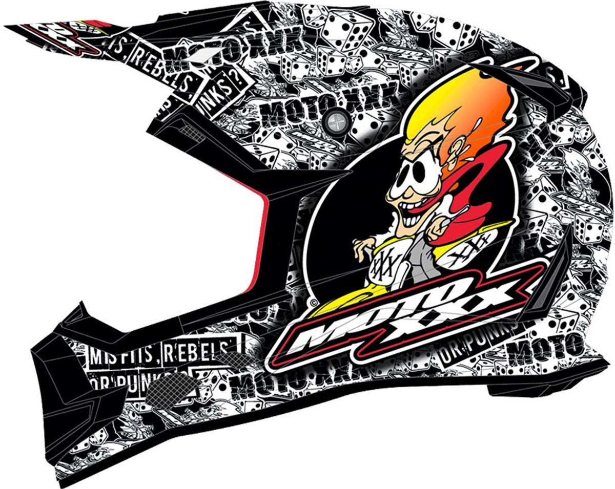 O'Neal Crosshelm Moto XXX Og Character