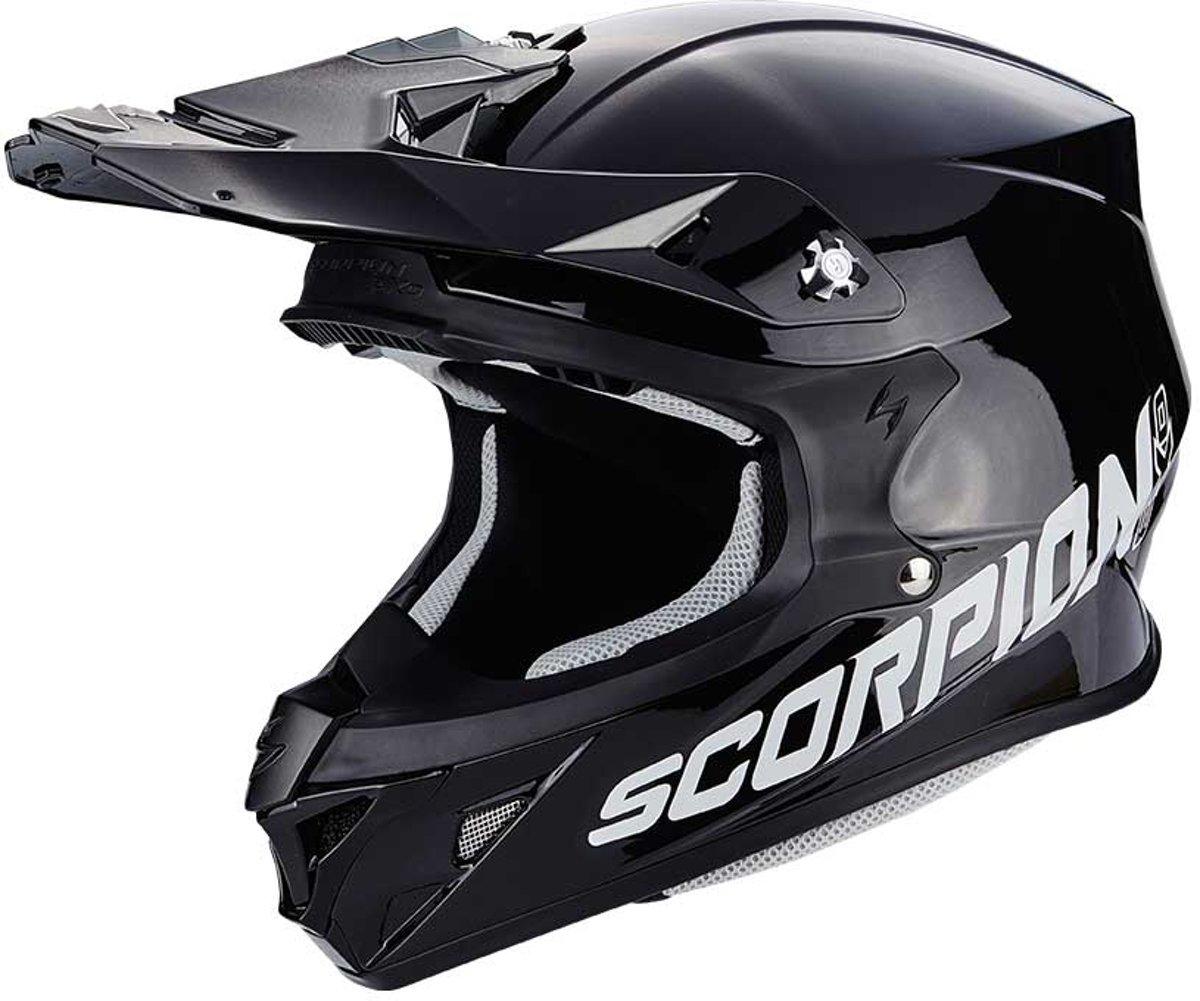 Scorpion Crosshelm VX-21 Air Solid Black-XS