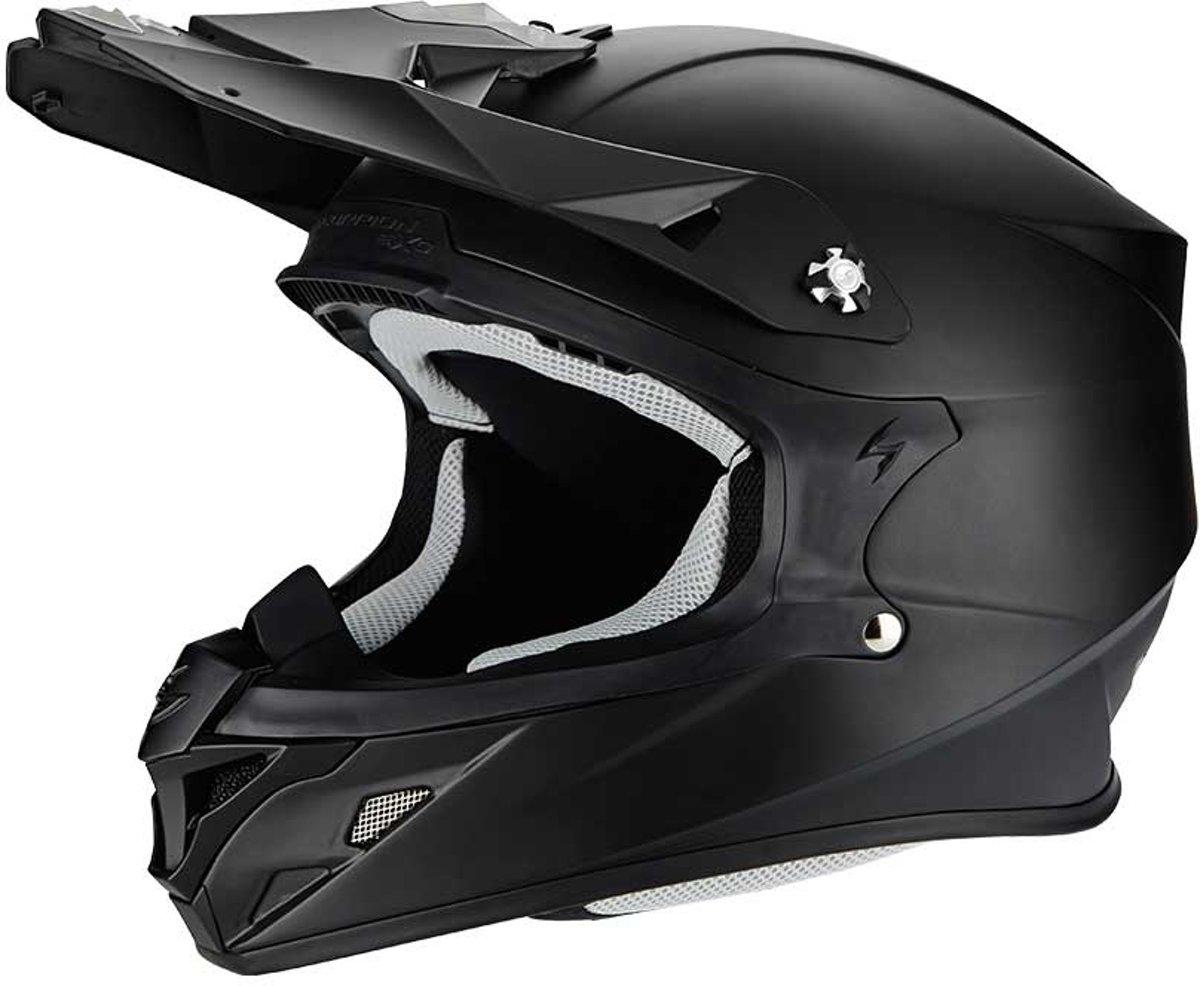 Scorpion Crosshelm VX-21 Air Solid Matt Black-XL