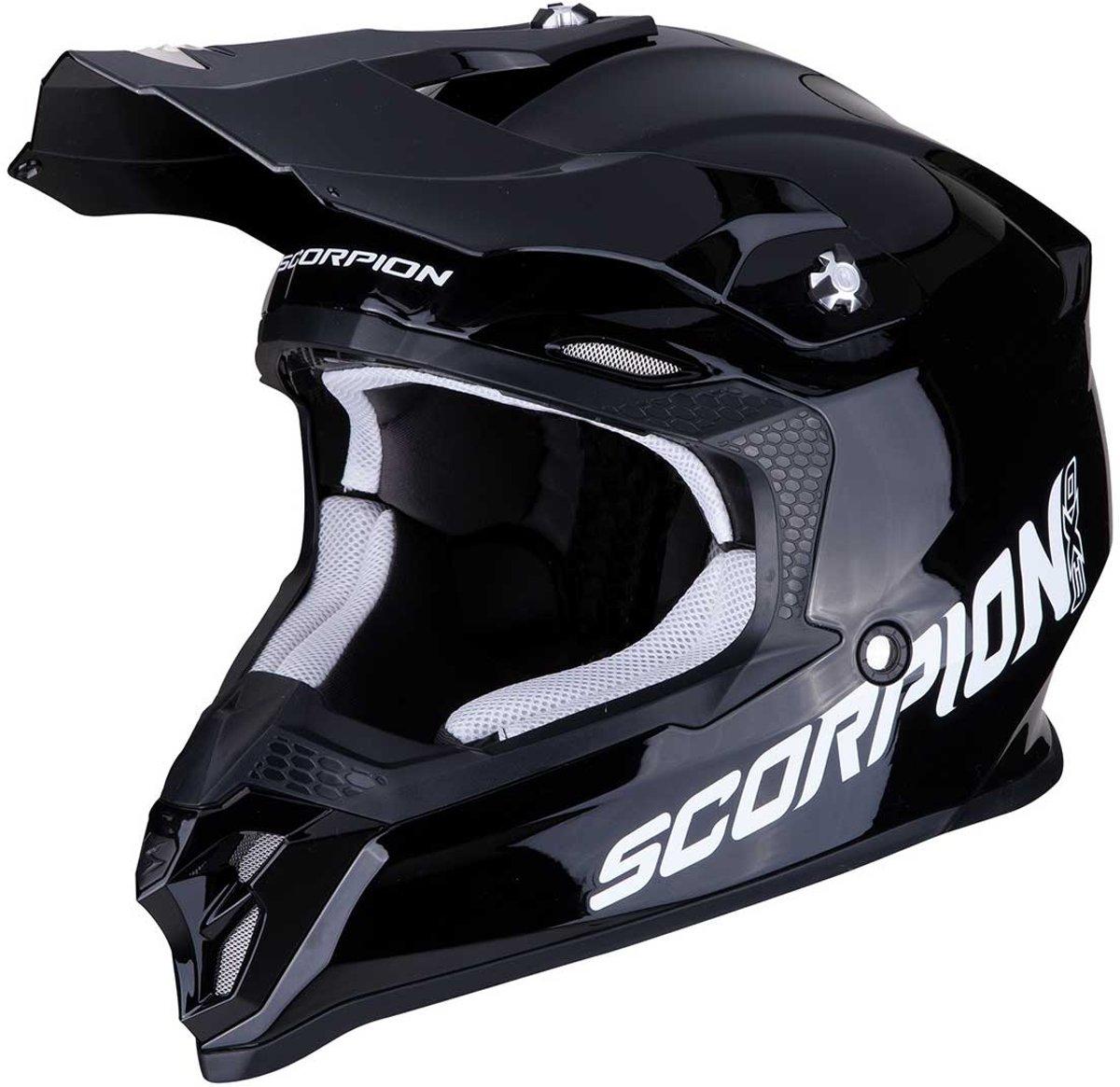 Scorpion Crosshelm VX-16 Solid Black-XXL