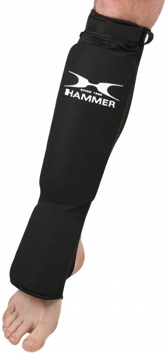 Hammer Boxing SCHEENBESCHERMERS TECH, Zwart, 160-180cm, M