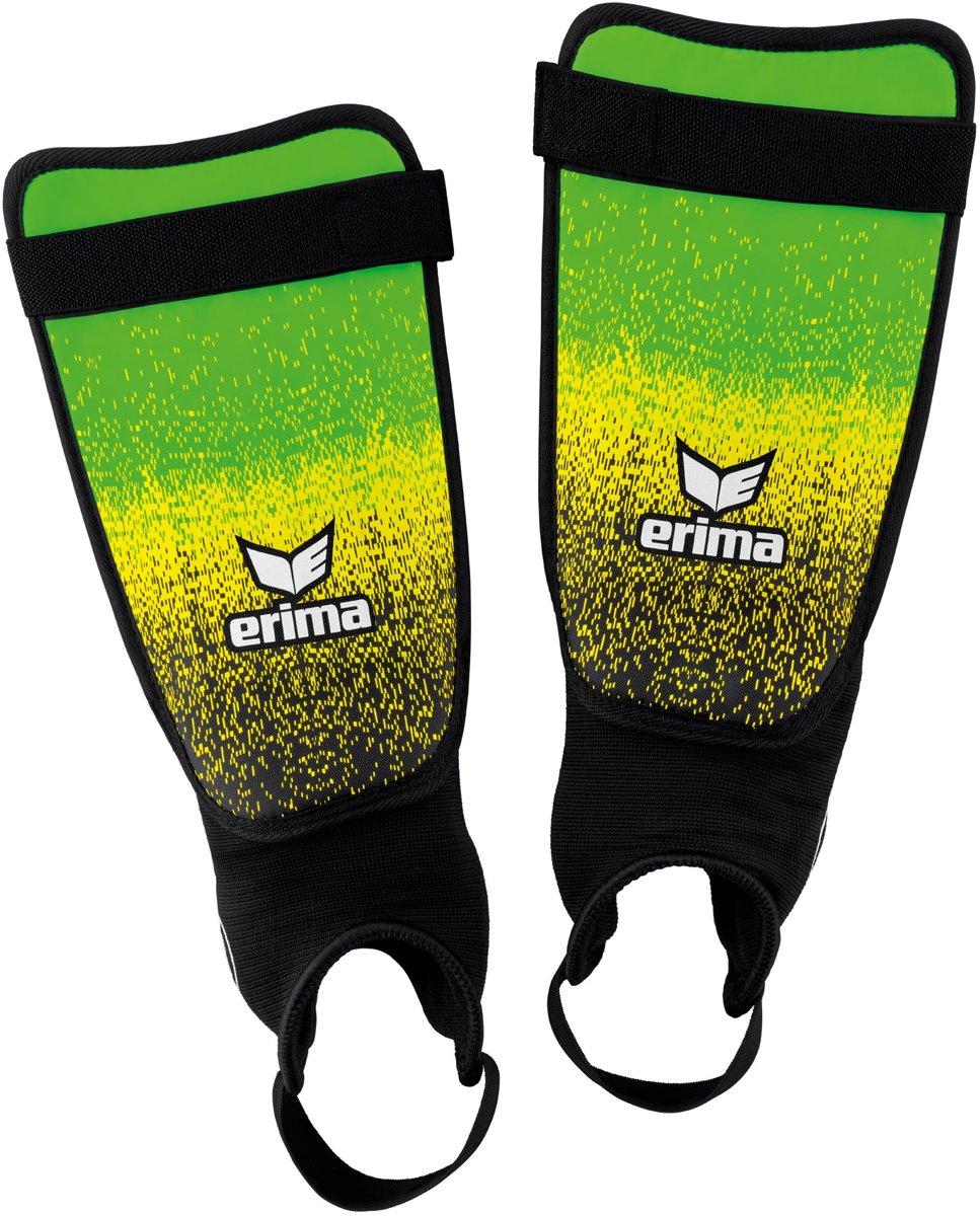 Erima Flex Guard Ergono scheenbeschermers  ScheenbeschermerVolwassenen - groen/geel/zwart