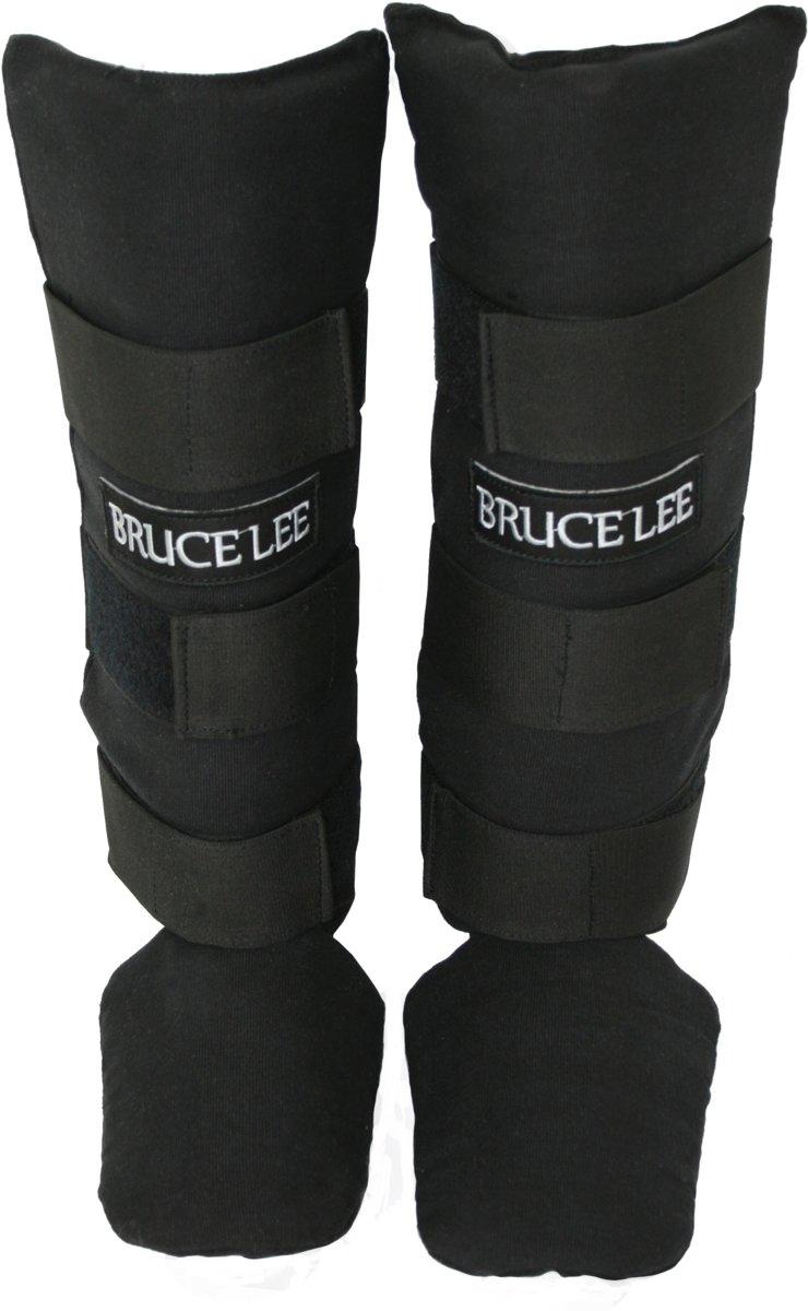 Bruce Lee Scheenbeschermers kickboksen - Shin guards - Katoen - XXS