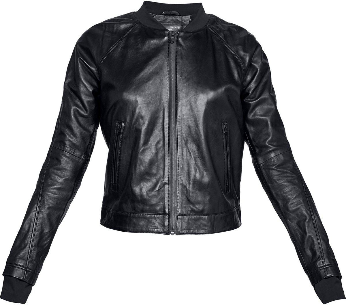 Under Armour - Misty Leather Jacket-BLK - Dames - maat XS
