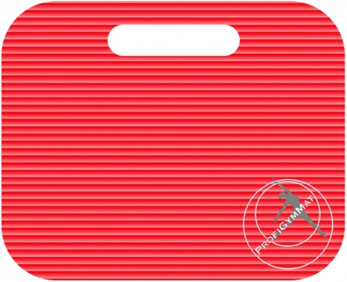 Trendy Sport Zitmat - Zitkussen - Fitnessmat - 35 cm x 30 cm x 1.5 cm - Rood