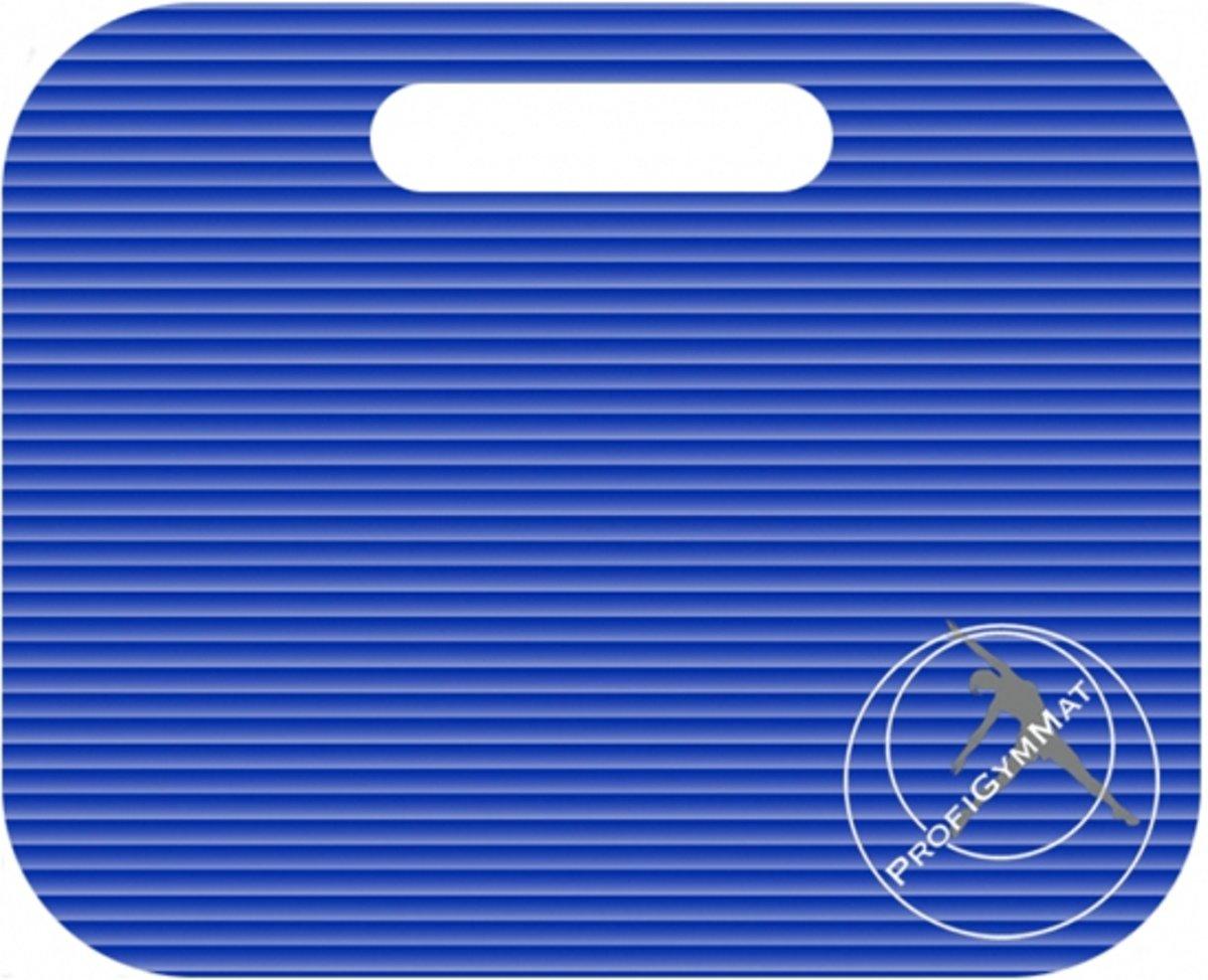 Trendy Sport zitkussen - Zitmat - Fitnessmat - 35 cm x 30 cm x 1.5 cm - Blauw