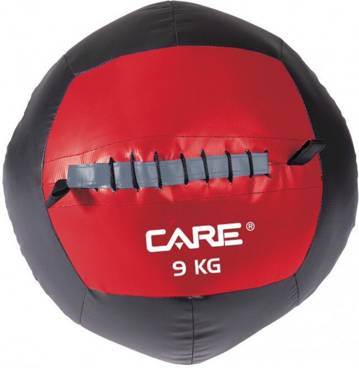 Care Fitness - Wallball 9 Kg - Functional Fitness - Rood/zwart