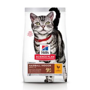 Hill's Science Plan - Feline Adult - Hairbal & Indoor - Chicken 3 kg