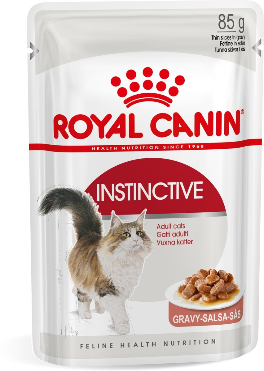 Royal Canin Instinctive in Gravy - 12 x 85 g